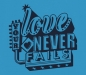 Preview: Your Love never fails!