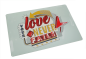 "Preview: Blechschild ""Your Love never fails"""