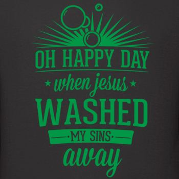 oh happy day when jesus washed my sins away