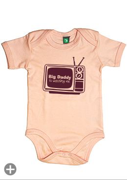 "Baby-Body ""Big daddy is watching me"""