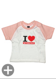 "Baby-Shirt ""I Love Mum&Dad"""