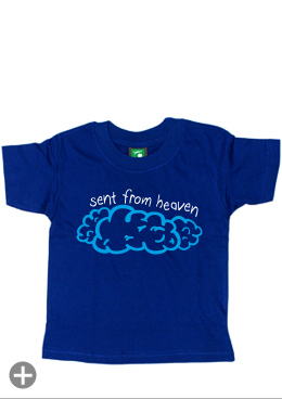 "Kids-Shirt ""sent from heaven"""