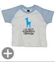 "Baby-Shirt ""I am God's Wonderful creation"""