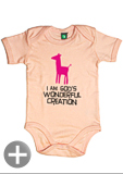 "Baby-Body ""I am God's wonderful creation"""""