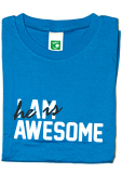 I am (he is) awesome
