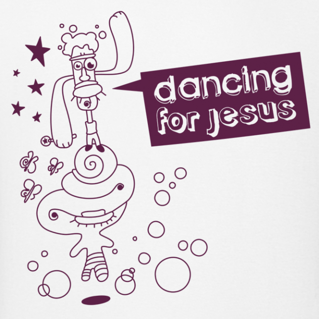 dancing for jesus
