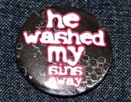 He washed my sins away