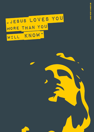 143) Jesus loves you more than you will know