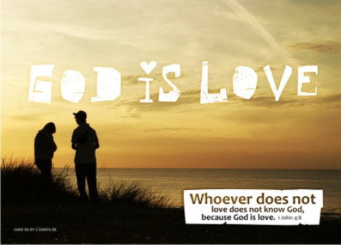 153) God is love