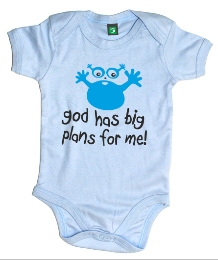 "Baby-Body ""god has big plans for me"""