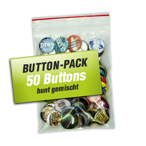 50er Button-Pack (5 Euro sparen)